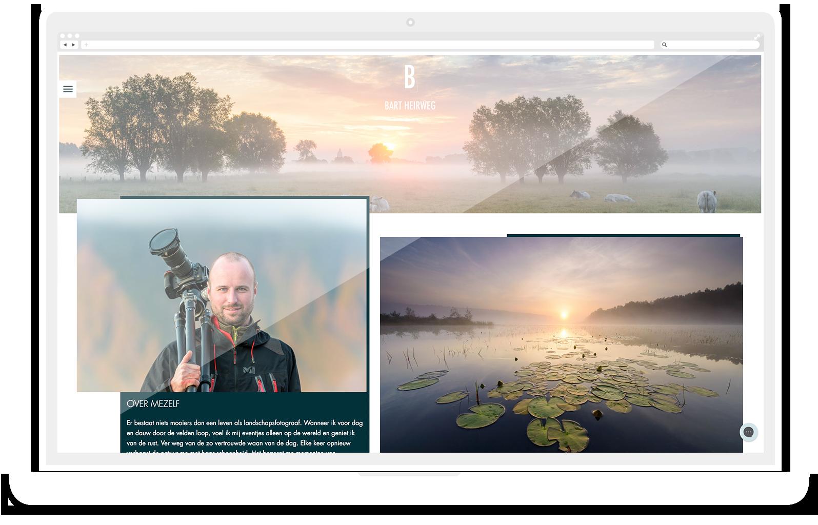 website bart heirweg fotograaf