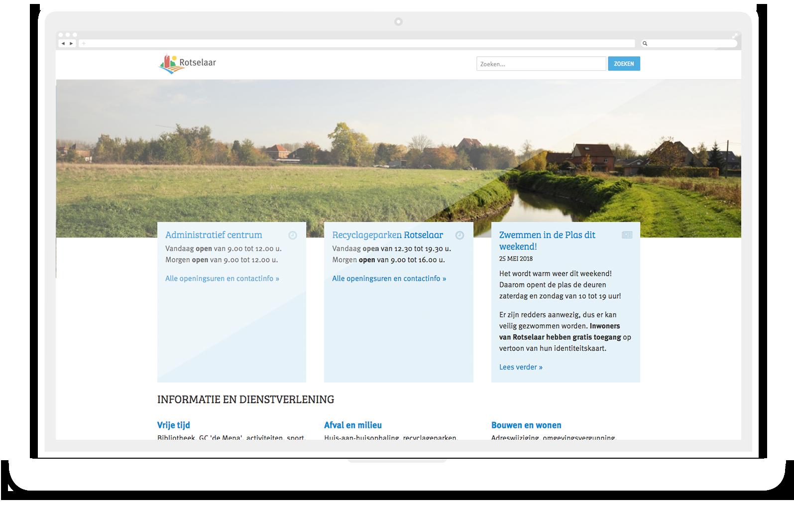 website rotselaar