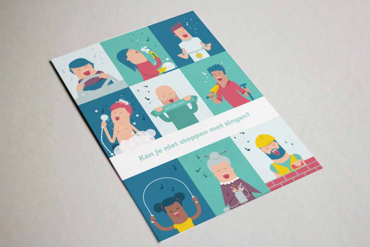 koorenstem-postkaart