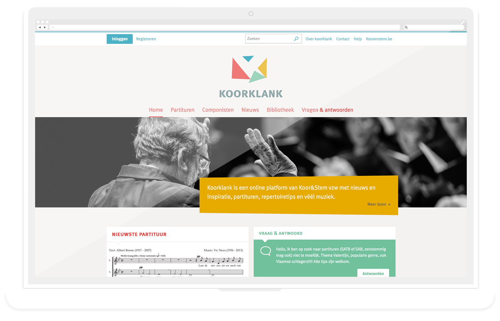 website koorklank